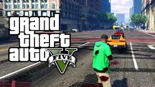 GTA V Mods: Vehicle Cannon Mod! Shoot Cars from your Gun!