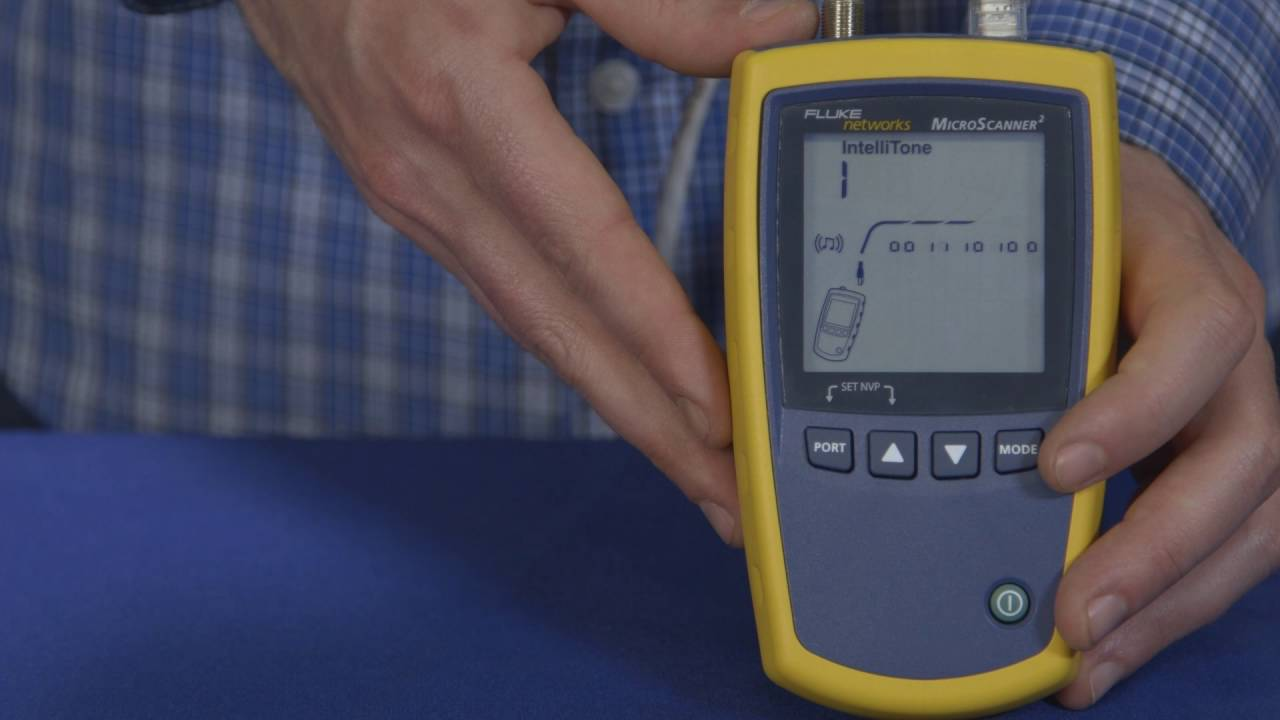 picture regarding Cat6 Cable Tester With Printable Results named Fluke Networks MicroScanner2 Cable Verifier and Tester