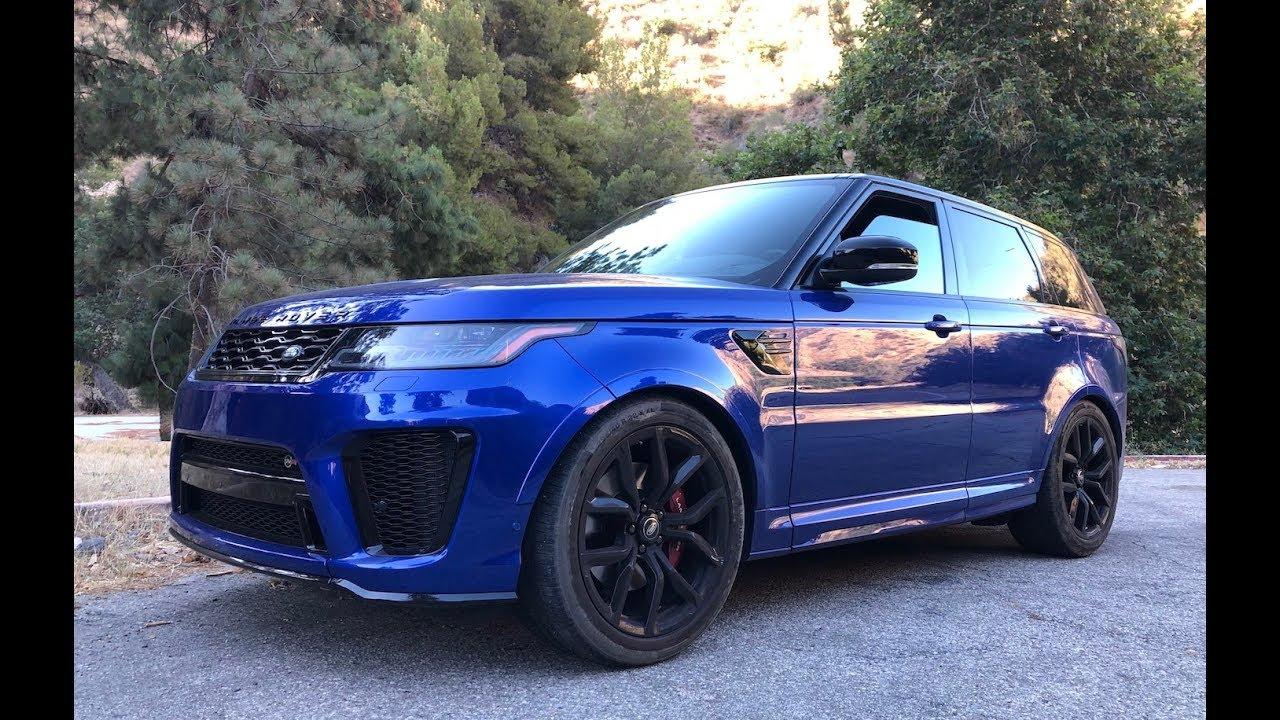 Range Rover Svr Price >> 2020 Range Rover Sport Svr One Take