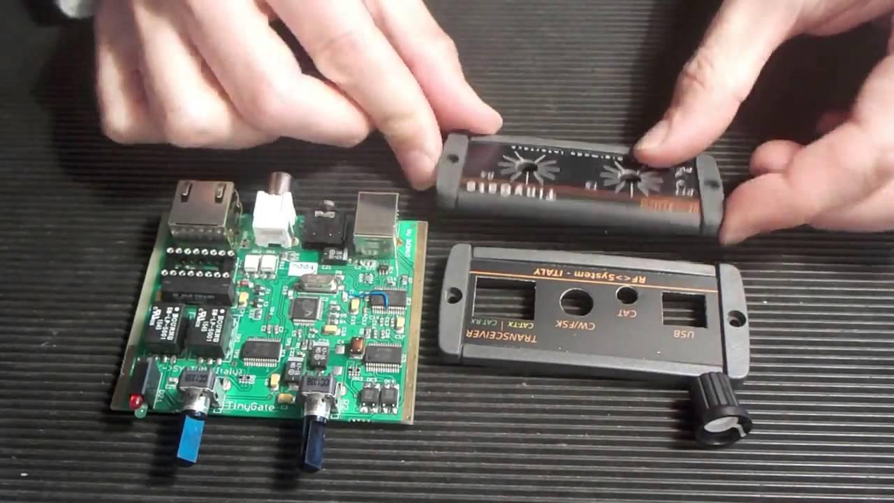 TinyGate USB digimode interface kit Assembly guide