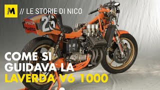 Come si guidava la V6 Laverda 1000