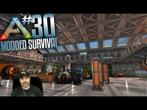 Ark Survival Evolved Modded - Ep 30 - Base Upgrades and Youtube Talk (Ark Valhalla Gameplay)