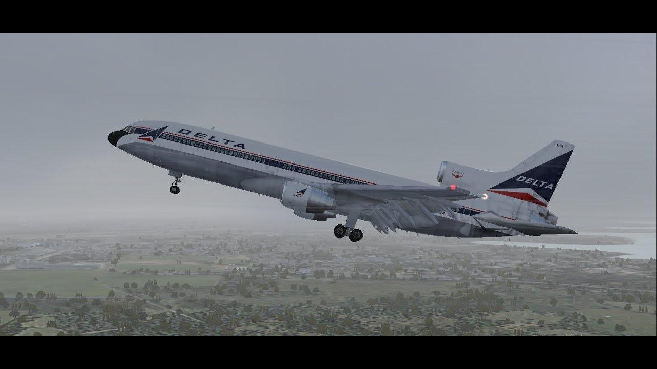 fs2004 invisible killer delta air lines flight 191 youtube