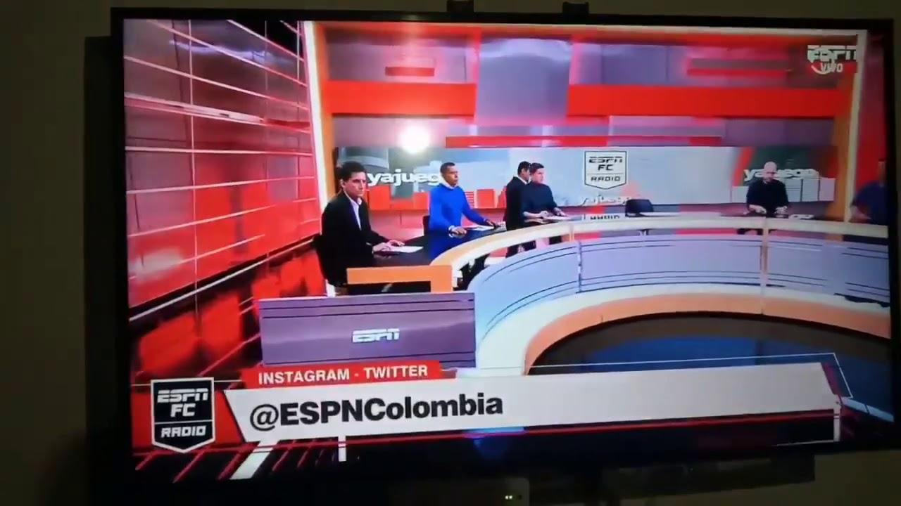 Presentador de deportes le cae pantalla en plena transmisión en vivo