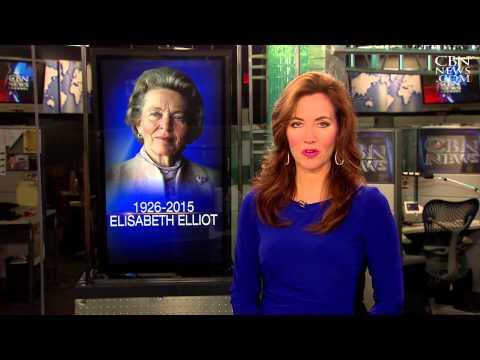 CBN News Sunday: the Life and Legacy of Elisabeth Elliot