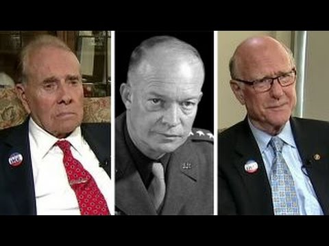 Bob Dole and Pat Roberts on quest for Eisenhower memorial
