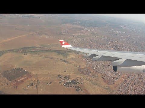 SWISS Airbus A340-300 HB-JMC LX 288 Zurich-Johannesburg Economy Class Trip Report