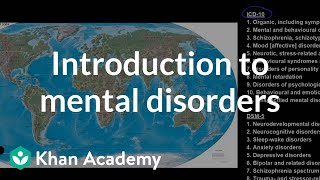 Introduction to mental disorders | Behavior | MCAT | Khan Academy