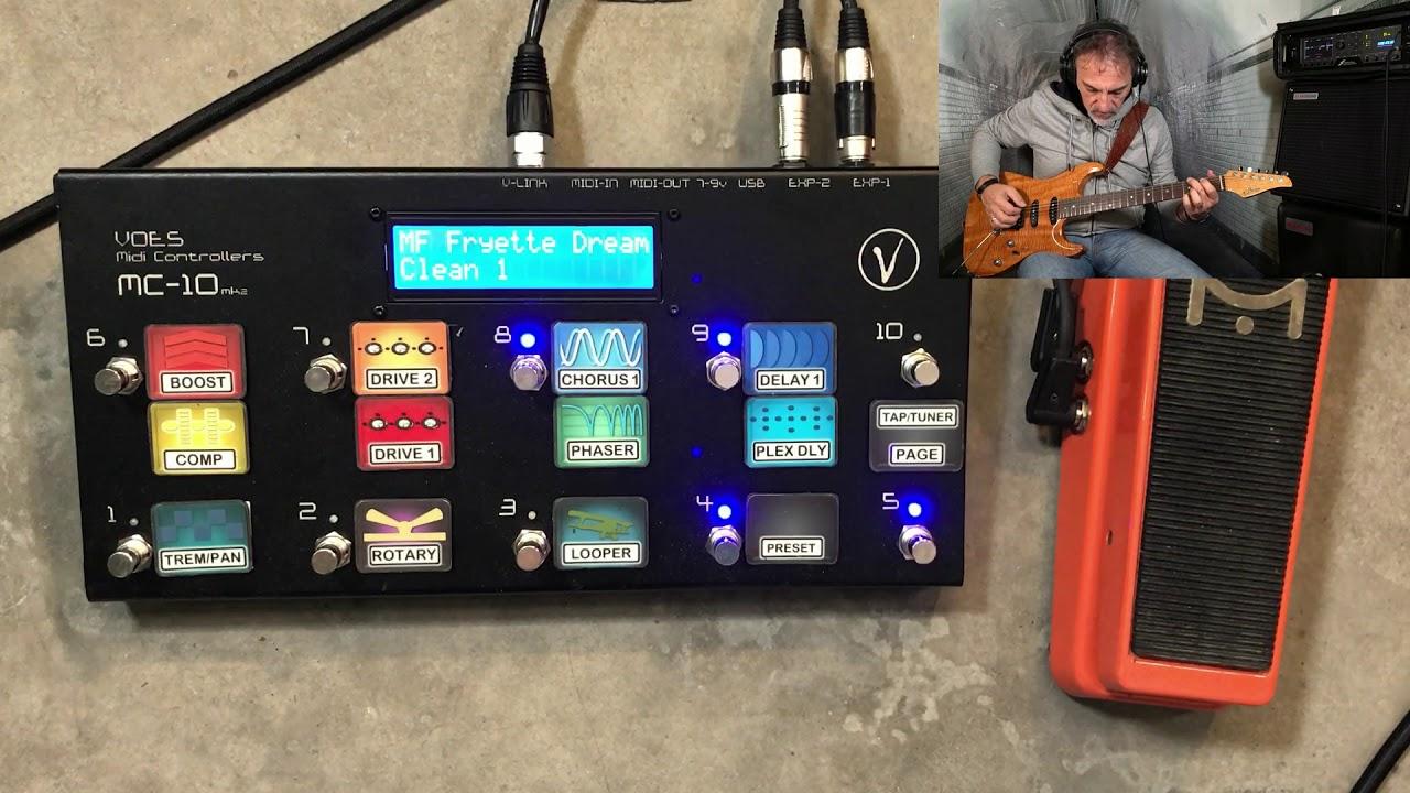 Fractal AXE FX III - live preset setup - midi pedalboard settings and  configuration