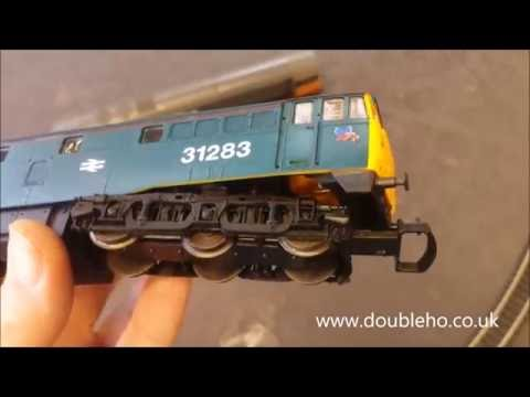 OO Model Railway Lima BR Blue 31283 Class 31 Diesel Locomotive