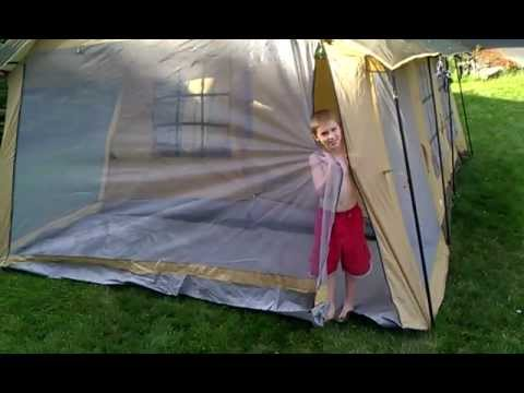 sc 1 st  YouTube & Northwest Territory Front Porch Tent review - YouTube