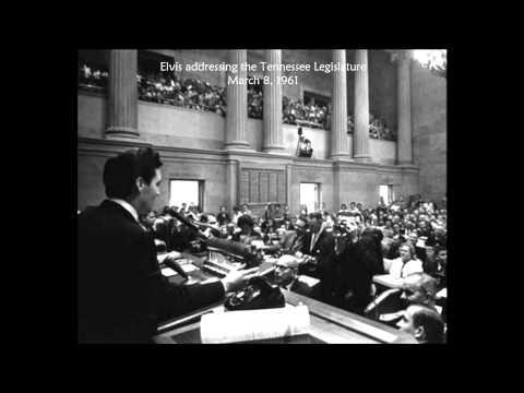 Elvis speech; March 8, 1961 - Nashville, Tennessee