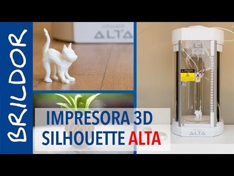 impresora-3d-silhouette-alta:-instalación-y-uso