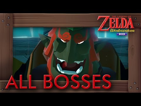 Zelda The Wind Waker HD - All Bosses