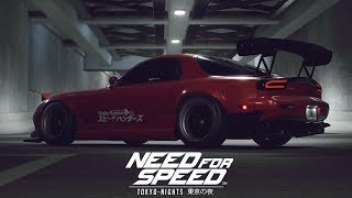 Need for Speed - Tokyo Nights Concept (Opening Cinematic, Menu, UI & Introduction)