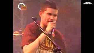 Noize MC - Новогодние фристайлы на телеканале О2ТВ (31.12.2008)