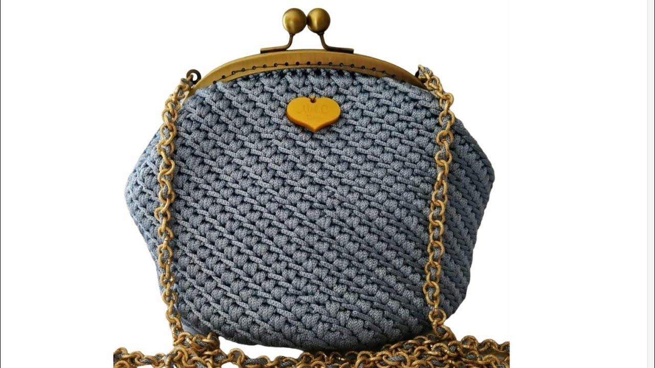 Pochette Clic Clac Anna Mel C Bags Handmade Punto Canestro