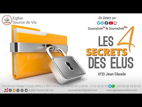 N'ZI Jean Claude | Les 4 secrets des Elus