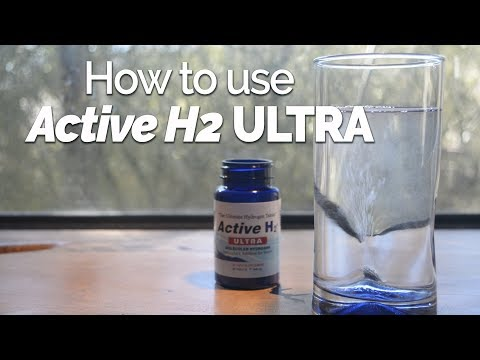 Active H2 ULTRA – How To Use Hydrogen Tablets