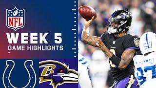 Colts vs. Ravens Week 5 Highlights   NFL 2021