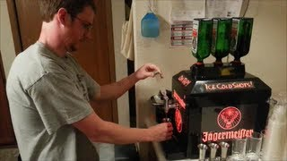 Jager Tap Machine Unboxing And Set Up