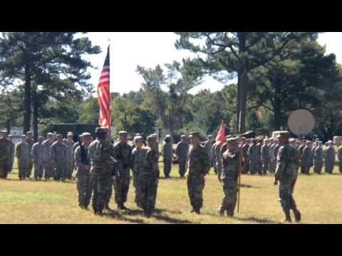 Raw video: 229th Brigade Engineer Battalion activated