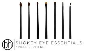 smokey eye essentials brush set