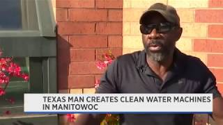 Texas Man's Invention Creates Drinking Water from Air WE ARE AN INCREDIBLE PEOPLE.