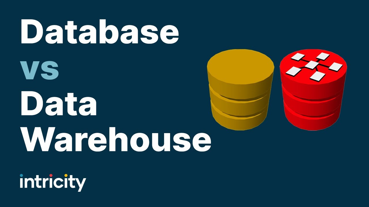 Download Database VS Data Warehouse