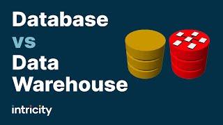 قاعدة البيانات مقابل مستودع البيانات