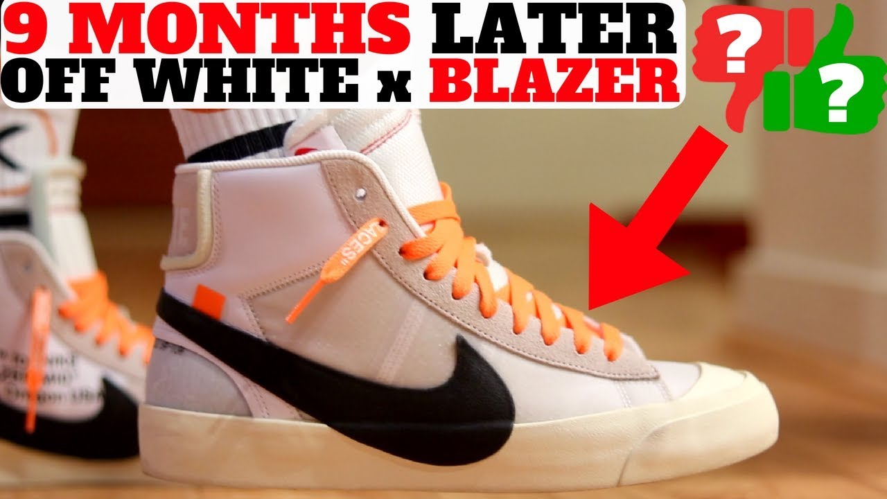 554381f5debf 9 Months Later: Off-White x Nike Blazer Mid (Pros and Cons!) - YouTube