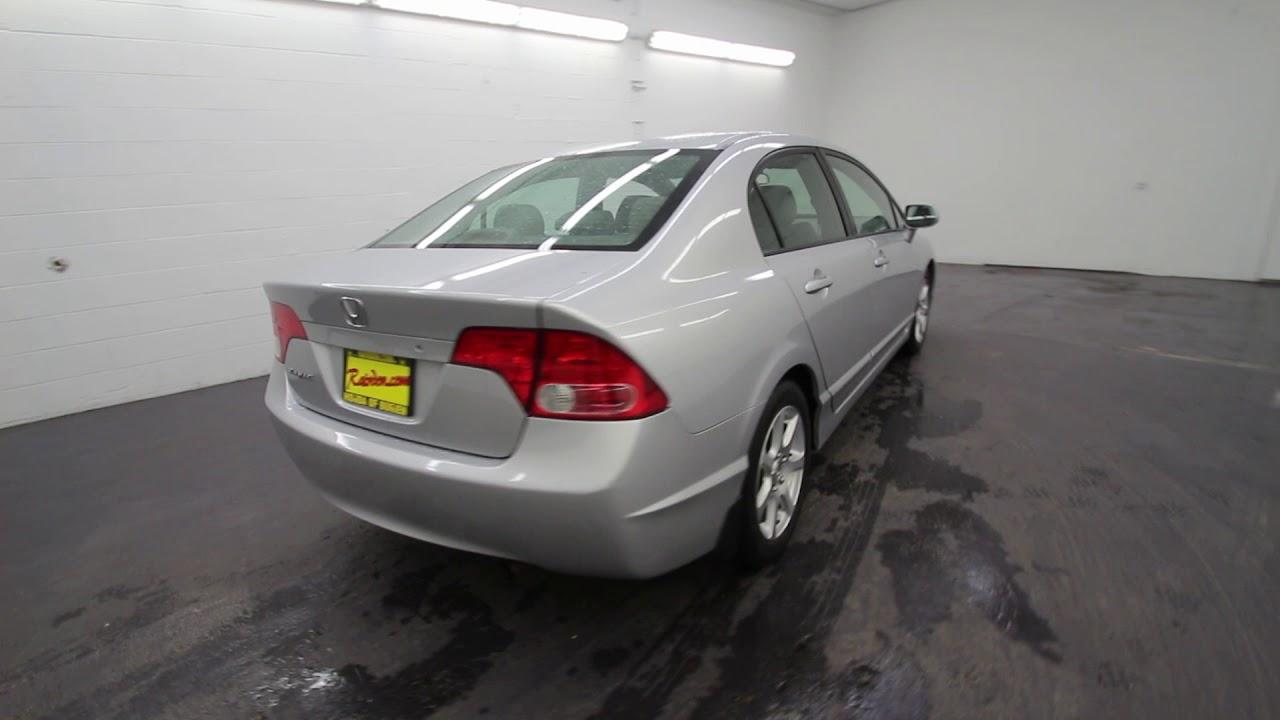 2008 Honda Civic LX | Alabaster Silver Metallic | 8L066723 | Seattle ...