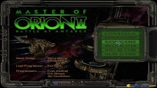 Master of Orion 2: Battle at Antares gameplay (PC Game, 1996)