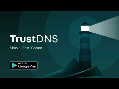 Trust DNS - unblocks websites and even that