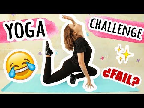 ¡YOGA CHALLENGE SÚPER EXTREMO! - Yuya