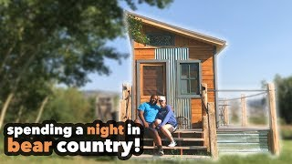 We Stayed At A Tiny House In Yellowstone National Park!