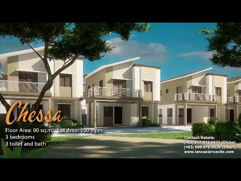 Chessa At Lancaster New City Cavite New Model House And