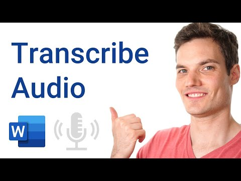 How to Record & Transcribe Audio in Microsoft Word