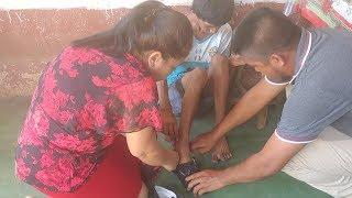 En Reu El Corazón se nos Estremece de Ver esta Familia q Sufre Porque Viven En Gran Pobreza