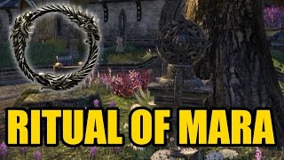 "The Elder Scrolls Online - Ritual Of Mara Tutorial ""BONUS XP"" 