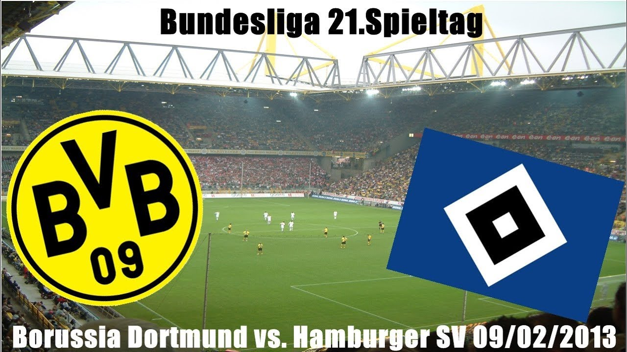 borussia dortmund vs hamburger sv