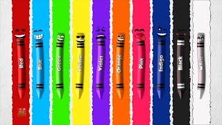 蜡笔颜色歌曲| 儿童颜色| 学习色彩| 农民的童谣| 婴儿歌曲