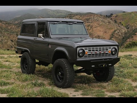 2017 Ford Bronco >> Glossy ICON BR Ford Bronco Resto Mod final test drive! #46 ...