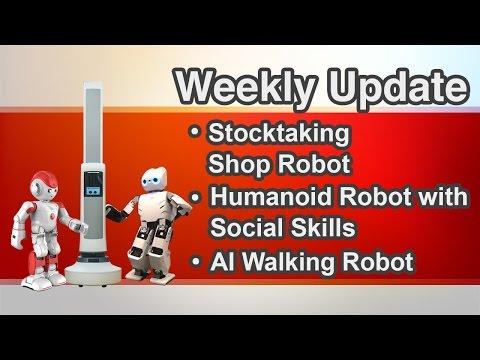 Tally Robot | Alpha 2 Humanoid Robot | Darwin AI Walking Robot