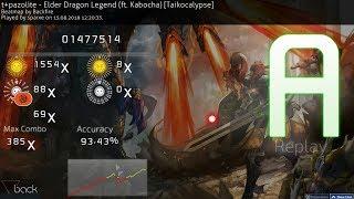 [osu!taiko] t+pazolite with Kabocha - Elder Dragon Legend [Taikocalypse] A