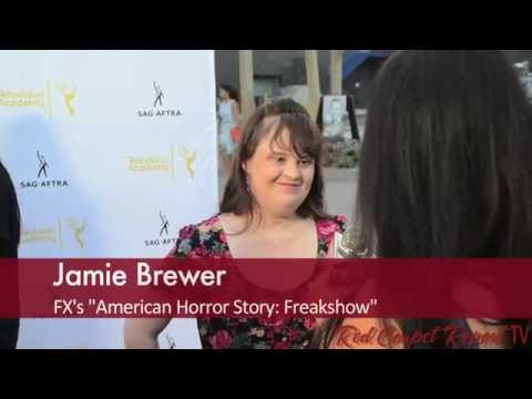 Jamie Brewer at the 66th Emmy Awards Dynamic & Diverse Reception