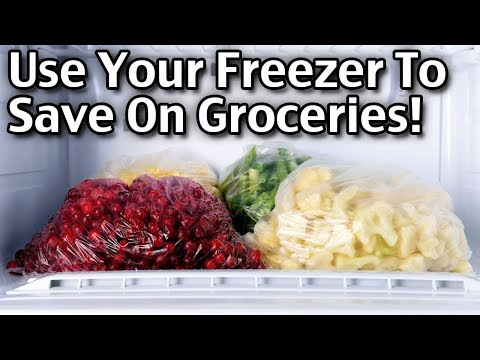 How To Use Your Freezer To Save Money On Groceries!
