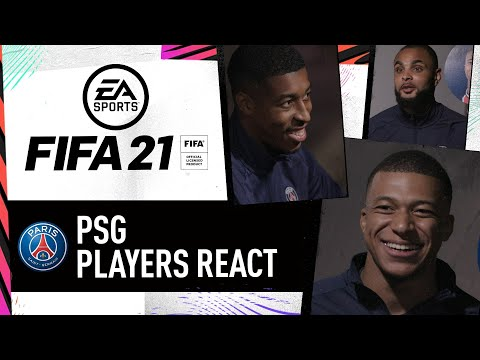 """""""Come on, that's not fair!"""" PSG Players Decide Their FIFA 21 Ratings"""