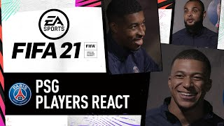 """Come on, that's not fair!"" PSG Players Decide Their FIFA 21 Ratings"