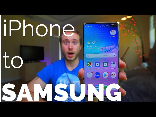 10-year iPhone user switches to Galaxy S10+ (Ceramic Black) Reaction